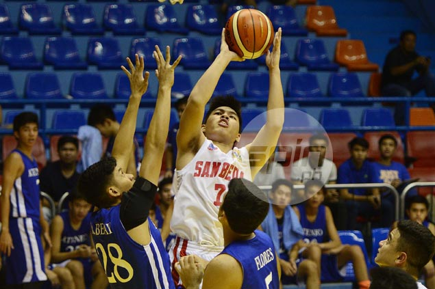 Robi Nayve stars as San Beda Red Cubs down Ateneo and spoil Kai Sotto's Blue Eaglets debut