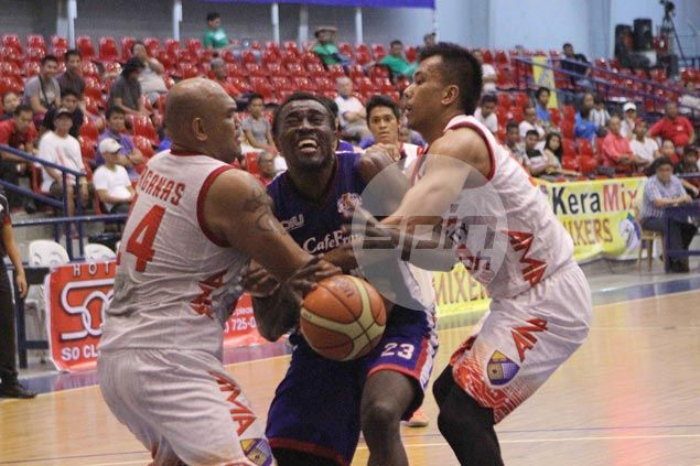 Cafe France wears down AMA main man Jay-R Taganas to tighten grip on second spot in D-League