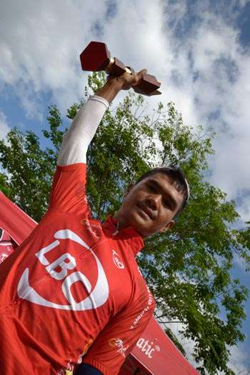 Oranza wins back-to-back stages, claims KOM and sprint titles to bag P123,000 in Ronda Luzon qualifying