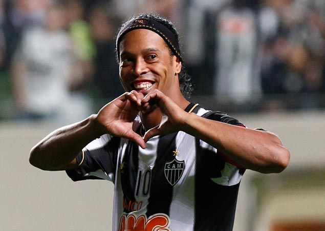 Football great Ronaldinho belies report he's marrying two women at same time