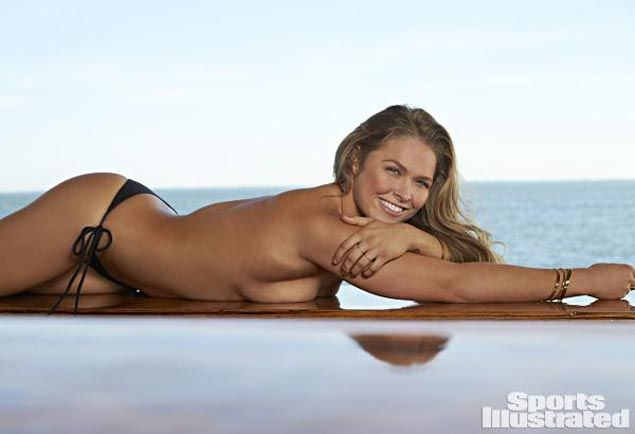 WATCH Ronda Rousey talks about SI Swimsuit shoot, but says modeling full time not for her
