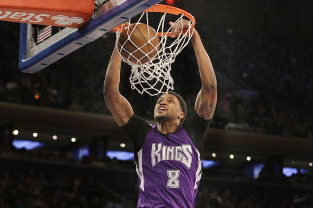 Rudy Gay reportedly tells Sacramento Kings he's opting out and unlikely to return next season