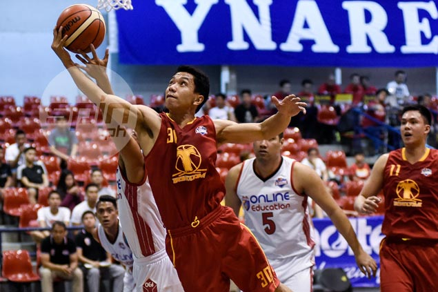 Rudy Lingganay, Jaypee Belencion power Tanduay to victory over AMA