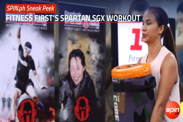 SPIN.ph Sneak Peek: Fitness First's Spartan SGX workout