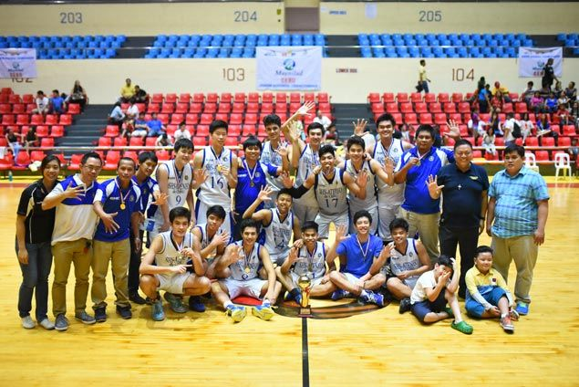 Sacred Heart School rules Cebu NBTC leg, closes in on spot in national finals