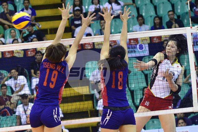 Japan recovers from a set down to beat Chinese Taipei and sweep group stage of Asian U23 Volley meet