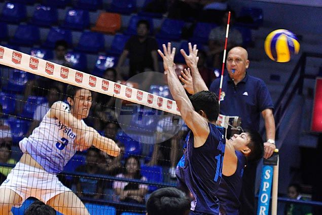 Active Smashers turn back Blue Thunder to gain share of lead in men's V-League
