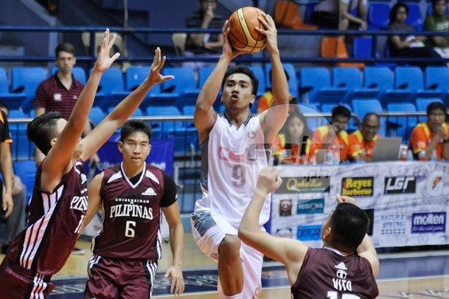 CEU Scorpions clobber UP Maroons for second win in as many games