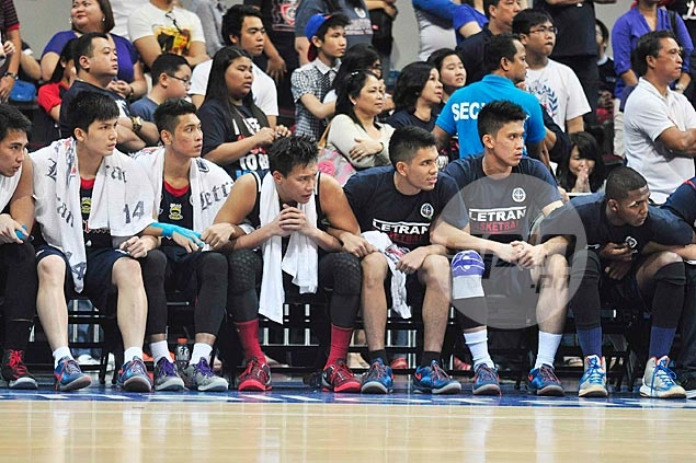 Letran Knights leave no stone unturned, undergoes another team-building session