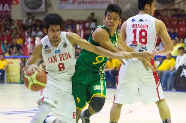 San Beda Red Lions survive late rally by USC Warriors in PCCL