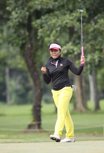Saraporn Chamchoi heads Thai shotmakers vying for honors in Ladies Philippine Golf Tour season ender at Southwoods
