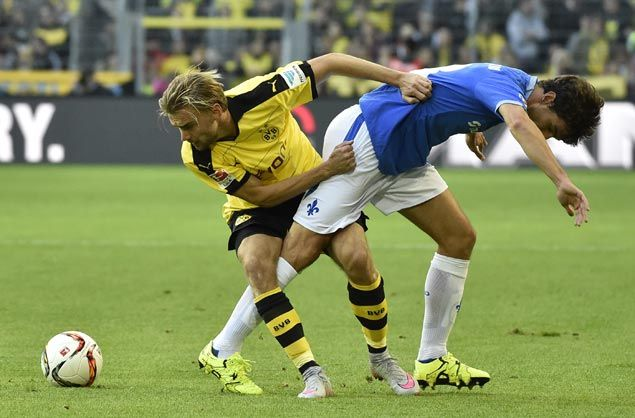 Darmstadt salvages unlikely draw at Dortmund in Bundesliga