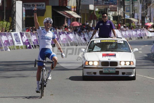 Diabetic rider Scott Ambrose rules Le Tour de Filipinas Stage 2 as Eric Sheppard keeps overall lead