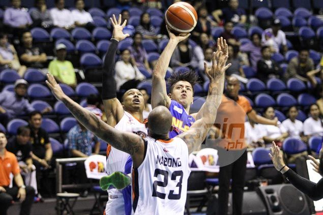 Sean Anthony rescues NLEX after Gary David trey nearly steals win for Meralco