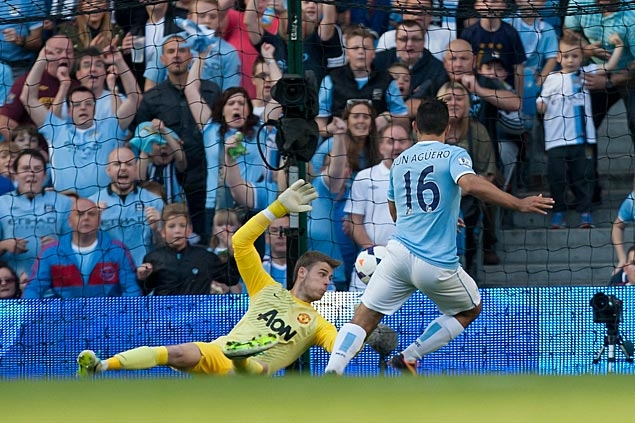 City routs post-Ferguson United in Manchester derby