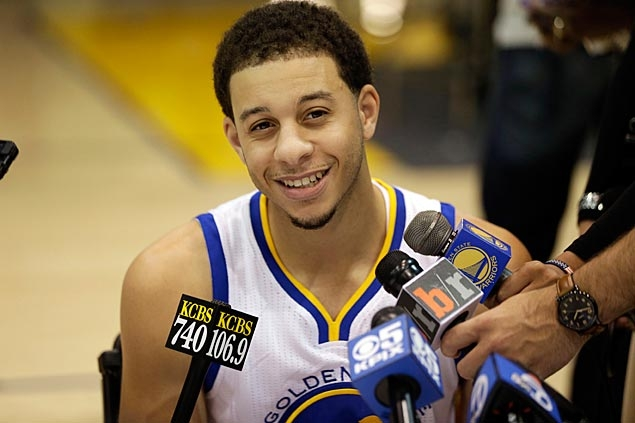 Seth Curry hoping to get out of big brother Steph's shadow