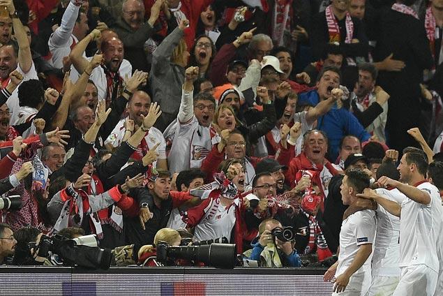 Sevilla scrapes past 10-man Celta Vigo to gain share of third with Atletico Madrid in La Liga