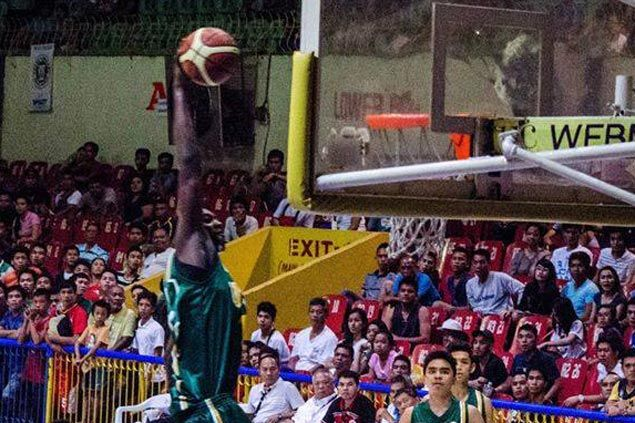 Shooster Olago holds his own in showdown of Cameroonian imports in Cesafi final