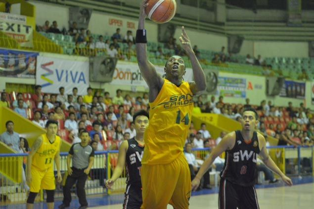 Double-doubles by Olago, Pepito power USC Warriors to victory over SWU Cobras