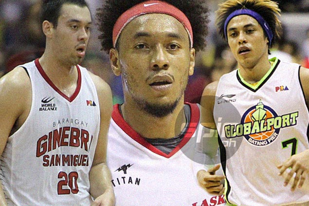 Calvin Abueva makes Top 10 in five statistical categories; Terrence Romeo leads scoring race
