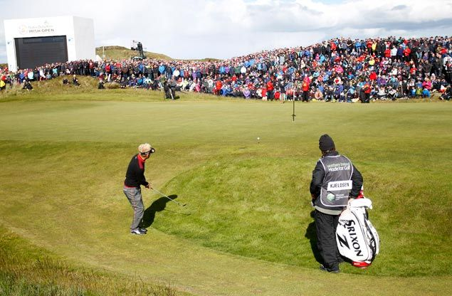 Denmark's Soren Kjeldsen wins Irish Open in three-way playoff