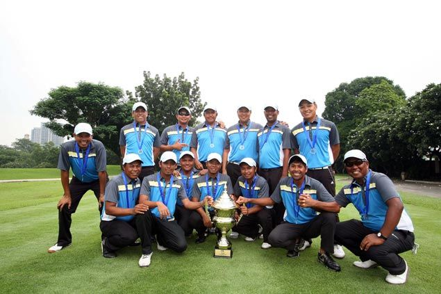 South stars overcome five-point deficit to beat North squad and retain title in PGT's The Duel