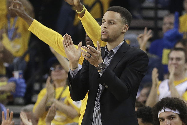 Scan on Stephen Curry's ankle reveals no serious structural damage