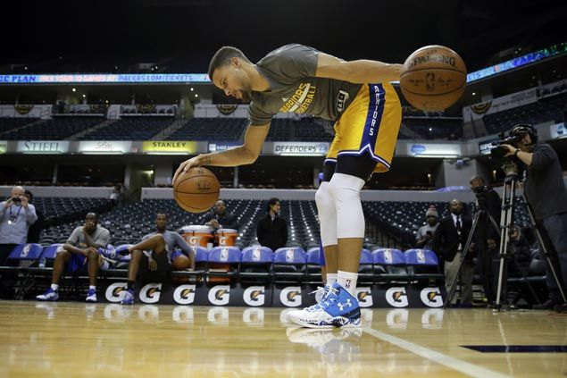 Pacers great Reggie Miller on Curry comparison: 'I'd take down Steph at my peak'
