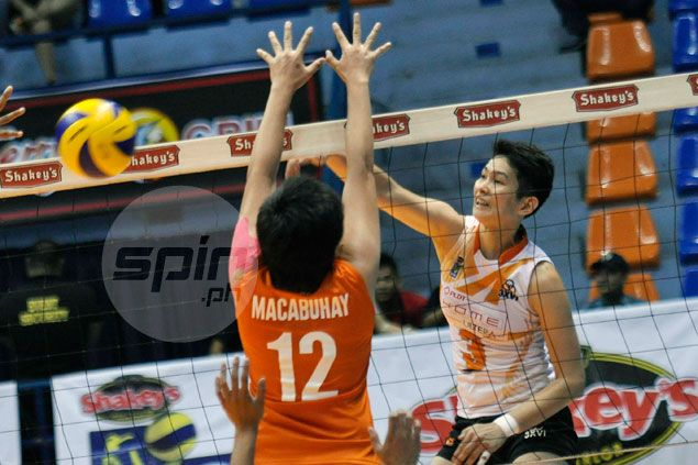 Ultra Fast Hitters make quick work of Lady Dolphins to gain solo lead in V-League