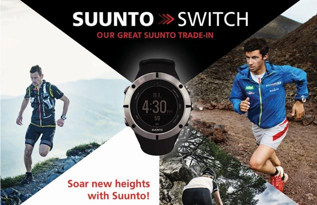 Grab chance to own a multi-function watch through the 'Great Suunto trade-in'