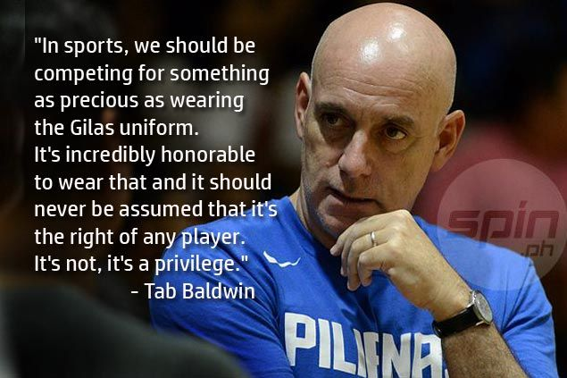 Tab Baldwin wants fierce competition for places as Gilas pool gathers for first practice