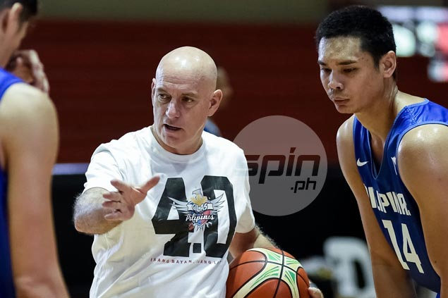 Japeth Aguilar trained to play center alongside Andray Blatche in agile Gilas frontline