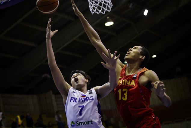 Batang Gilas relegated to battle for seventh after bowing to China in Fiba Asia U18