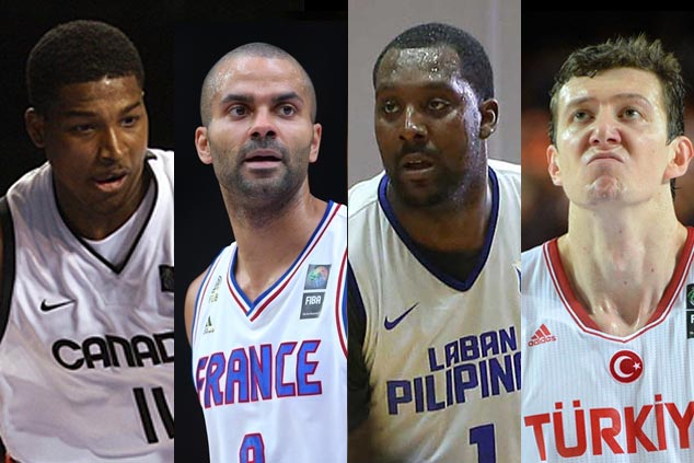 Nicolas Batum in France lineup as Turkey, Canada only teams yet to finalize roster