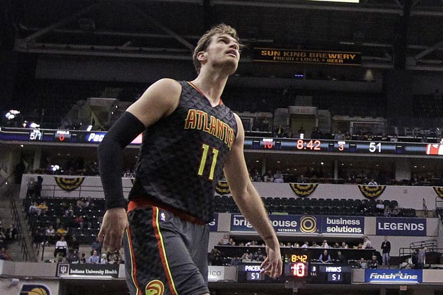 Hawks big man Tiago Splitter out again, will miss start of regular season with strained hamstring