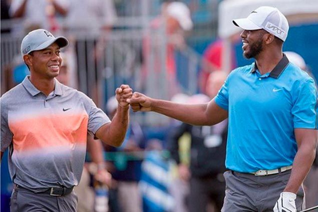 Chris Paul plays pro-am with Tiger Woods, calls former No. 1 'the GOAT'