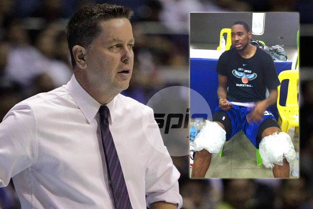 Tim Cone glad to see Denzel Bowles 'fit and ready to go' as Purefoods goes up against Ginebra