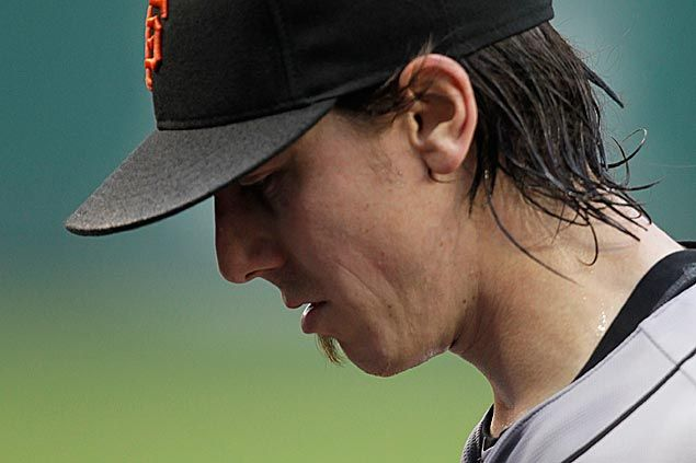 Struggling Lincecum moved into San Francisco Giants bullpen