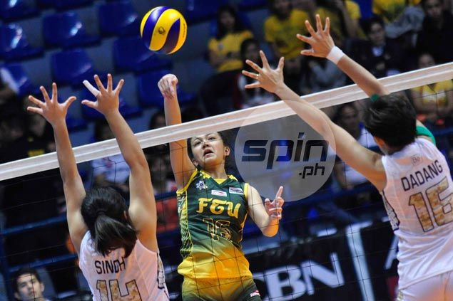 FEU Lady Tamaraws even record with straight-sets win over NU Lady Bulldogs