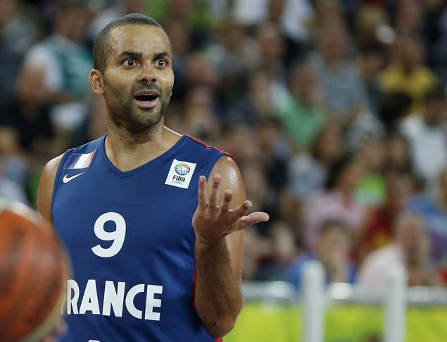 Tony Parker announces he'll be playing for France in Olympic qualifier in Manila