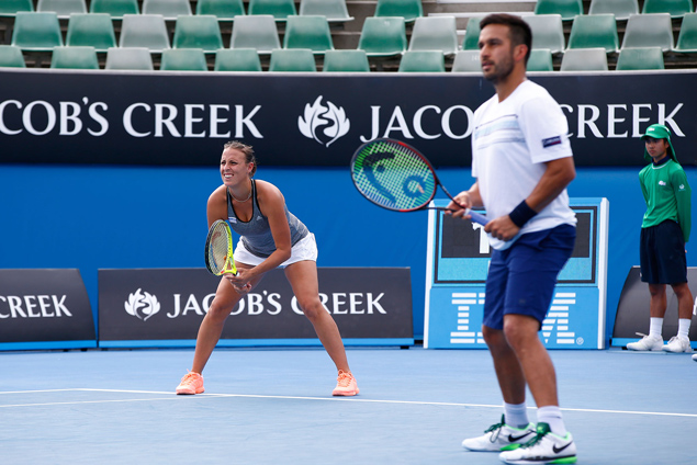 Fil-Am Treat Huey and Andreja Klepac march on to semifinals of Australian Open mixed doubles