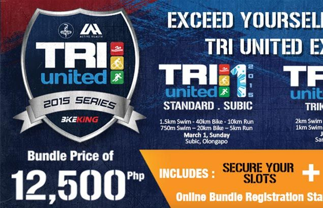 Bike King offers special bundle price for limited slots in 2015 Tri United Series