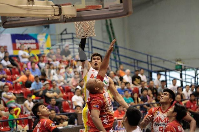 Troy Rosario sparks second-half surge as Hapee turns back AMA University