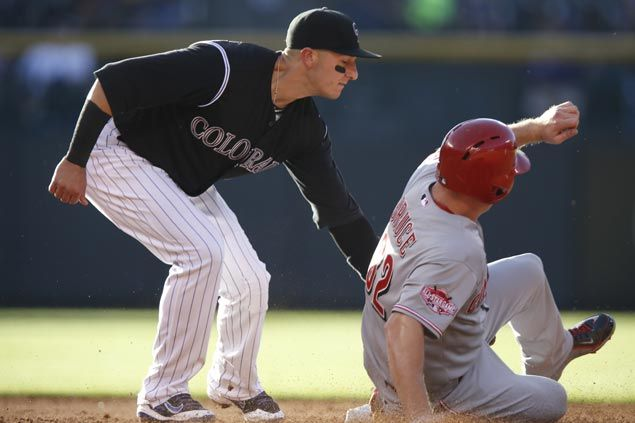 Shortstops swap places as Rockies trade Troy Tulowitzki to Blue Jays for Jose Reyes