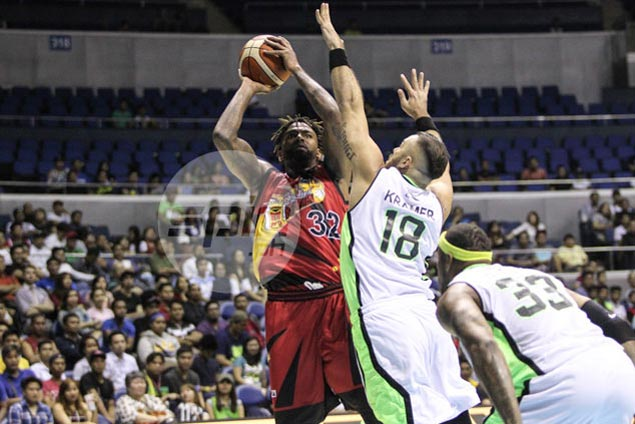 Tyler Wilkerson explodes for 52, leads San Miguel shooting spree in rout of GlobalPort