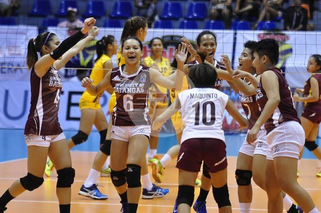Breakthrough for NCAA South titlist University of Batangas as it scores first match win in V-League at expense of PUP