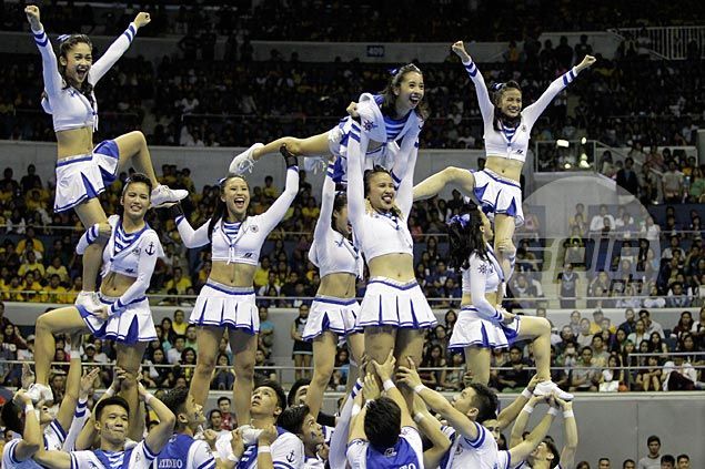 UAAP cheerdance preview: Ateneo Blue Babble Battalion takes a daring leap