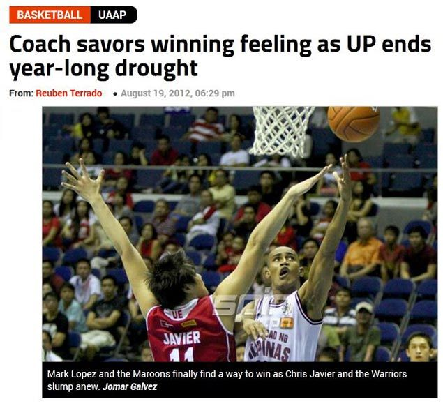 TBT: UP Maroons finally win