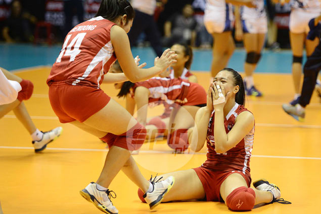 UE Lady Warriors end 58-match losing streak with victory over Adamson Lady Falcons
