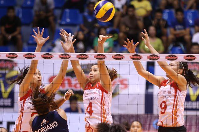 Aiza Maizo Pontillas, Janine Marciano star as PLDT downs Navy to reach semifinals